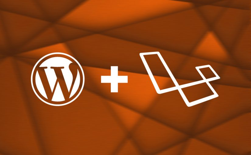 WordPress + Laravel