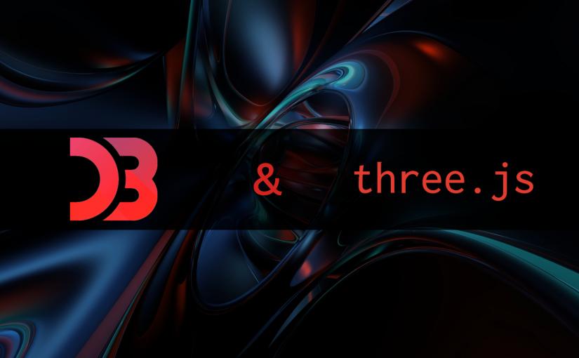 D3JS, Three.js & animeJS